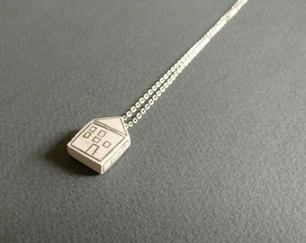 House. Necklace.