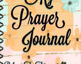 Woman's Prayer Journal, Ladies Prayer Journal
