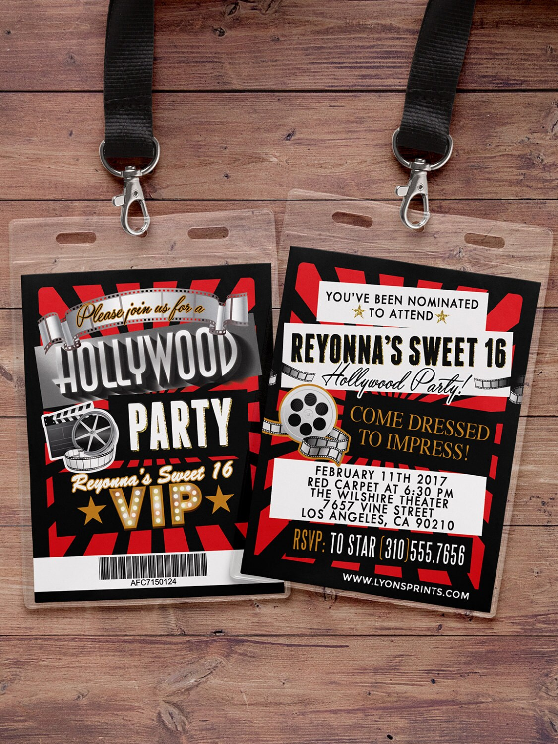 Vip Pass Hollywood Birth...