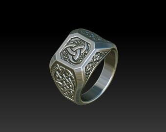 mens ring mens signet ring signet ring men mens celtic rings