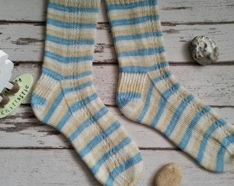 Ripple-icious sock pattern, Knitting pattern, sock pattern, handknit sock pattern