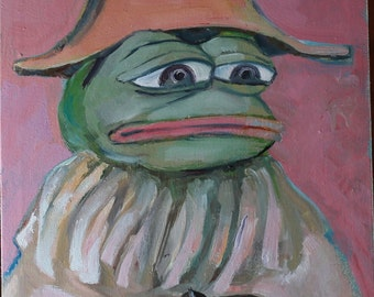 Young Sick Bacchus Pepe the Frog Philippe...