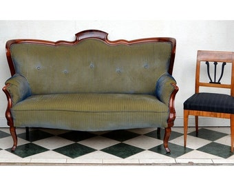 Louis-Philippe Sofa, northern Germany around 1860