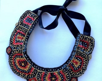 Necklace Embroidery Collar