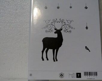 StampingUp Christms Deer Stamp