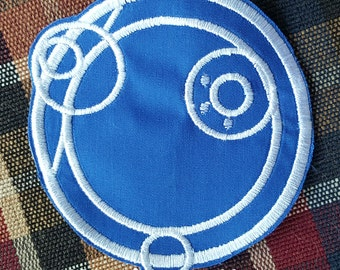 Custom Doctor Who Gallifreyan Patches