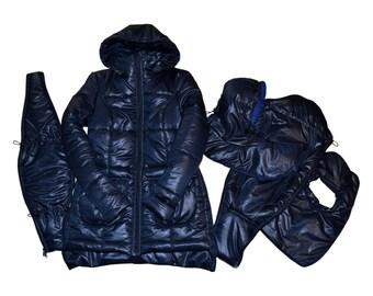 3 in 1 Maternity Coat/Jacket Baby Carring Navy, Baby and Mother Coat, baby carrying jacket, baby carrying coat