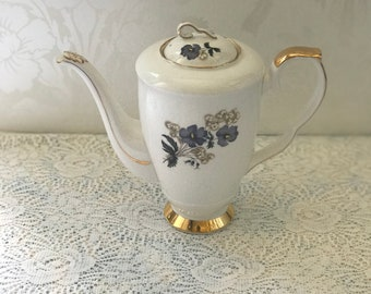 Royal Stafford Violets Coffee Pot