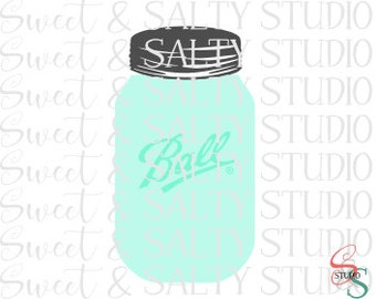 ball mason jar digital file