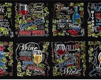 Vineyard Wine Blocks - Robert Kaufman