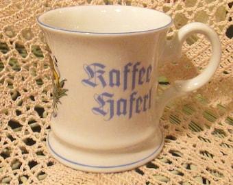 Vintage German Konigl Bayer Koffee Coffee Cup