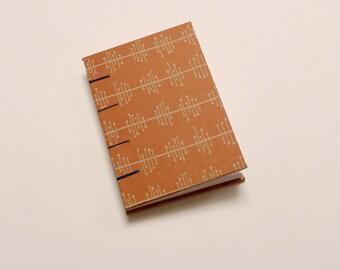 Orange A6 Coptic Sketchbook