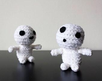 Crochet Kodama Forest Spirit