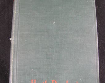 The Red Road // 1927 Hardback //A Romance of Braddock's Defeat