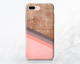 iPhone 8 Case iPhone X Case iPhone 7 Case Geometric Wood iPhone 7 Plus Case iPhone SE Case Tough Samsung S8 Plus Case Galaxy S8 Case I32