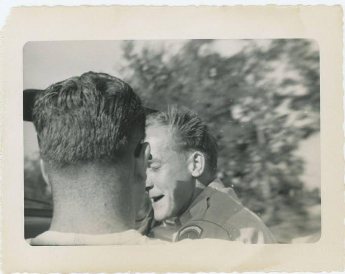 Vintage Snapshot Photo: Two Men (712626)
