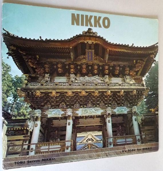 Nikko Tobu Railways Company, Ltd - Japan Travel Tourism Transportation Brochure - Ca. 1960's
