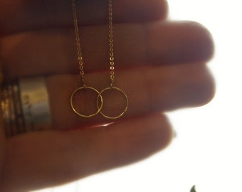 Karma - what goes around comes around - gold filled OR sterling silver - SIMAG