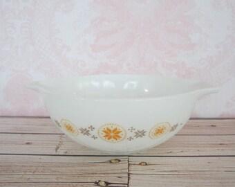 Vintage Town & Country Pyrex Cinderella Bowl 444 Vintage Pyrex Milkglass