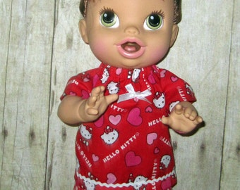 Corolle Tidoo, Corolle Calin, Doll Clothes,  Baby Alive, All Gone, Kitty Short Set, Doll Clothes, 12 or 13 inch Doll Clothes,