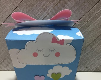 Rain Of Love candy box cone Take Out Box  // candy birthday// party favors//Cute baby shower