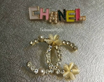 Miss Priss Glam Brooch Pin Set
