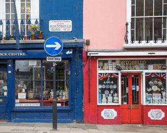 Portobello Road Photography - London Print - Notting Hill - Portobello Market