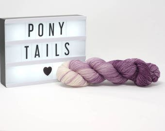Pony Tails - Hand Dyed Merino Yarn