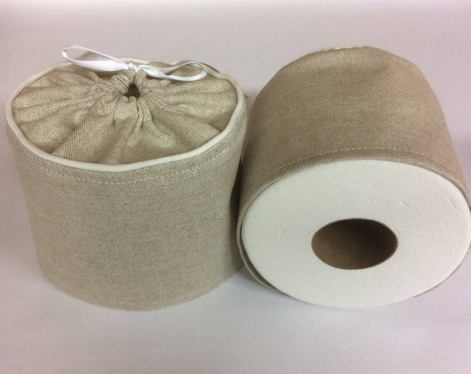 Burlap, Bathroom Decor, Toilet Paper Holder, Farmhouse Decor, Farmhouse, Rustic, Country Home Decor, Country, Bathroom Accessories, Brown,