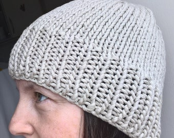 Sable Cotton Beanie Hat; Unisex Beanie Hat; Knitted Beanie Hat; Ladies Beanie Hat; Mens Beanie Hat