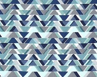 Michael Miller Fabric  - All Angles - Aqua - CX7286 - Cotton fabric by the yard(s)