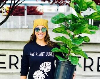 The Plant Junkie crew neck