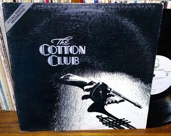 The Cotton Club Vintage Vinyl Motion Picture Sound Track Record
