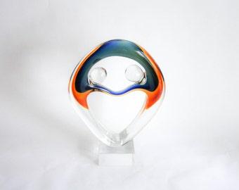 Mid Century Modern - Murano Art Glass Statuette Signed