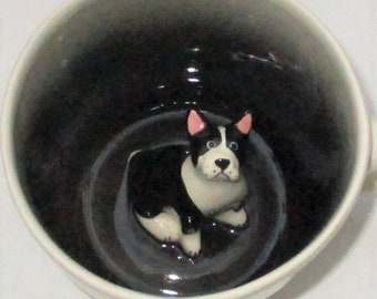 Boston Terrier paw prints (In Stock)