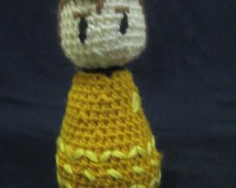 Crocheted Captain Kirk