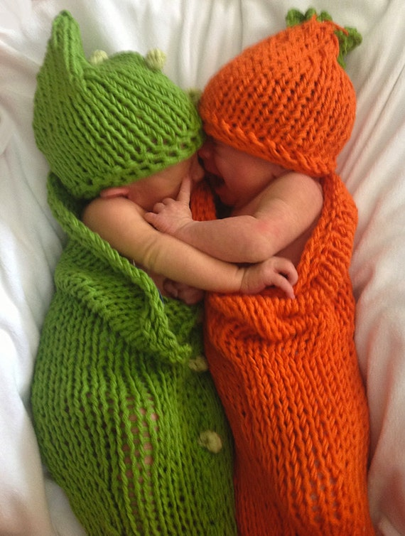 2 Knit Patterns Tutorials Baby Cocoons And Hats Buntings