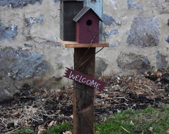 Birdcity   Decorative Bird house Amish Handmade