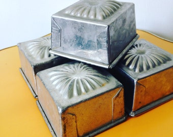 Vintage French Baking Tins