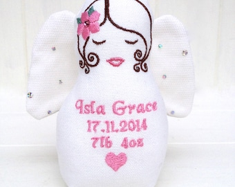 Angel, Guardian Angel, Personalised Guardian Angel, New Born Gift
