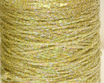 Vintage iridescent gold colored String