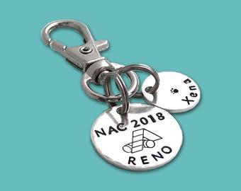 Personalized NAC 2018 AKC National Championship Commemorative Charm