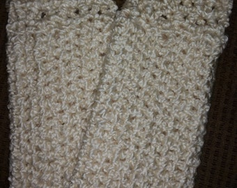 Crochet legwarmers, for adults and children