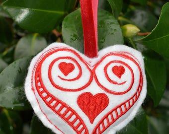 Richelieu Heart Ornament