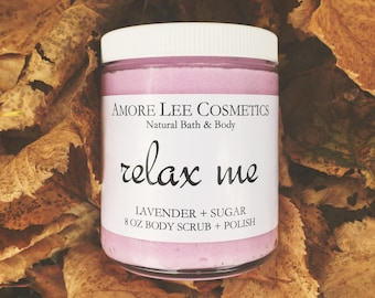 Relax Me Lavender Whipped Body Scrub