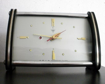 Vintage China alarm clock  Diamond Bakelite mechanical rare