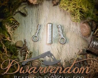 Beading Pin Only Dwarvish Hair/Beard pins dwarf viking biker boho bohemian hair bead