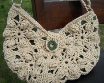CROCHET PATTERN Pdf , The Kendra Crocheted Bag/Purse pattern - CAN sell finished pieces, instant download, yarntwisted