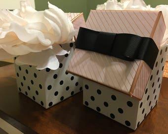Gift Box Faux Floral Arrangement!