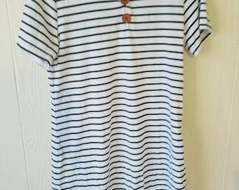 Handmade stripe dress